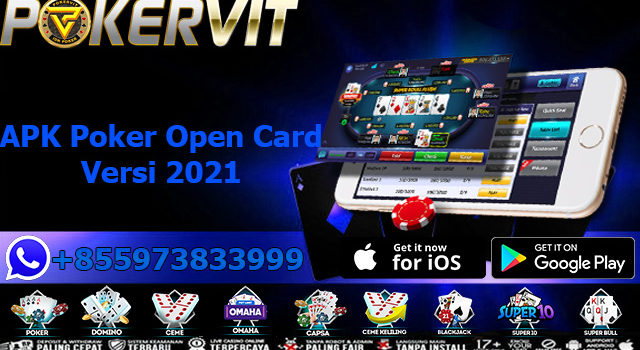 APK Poker Open Card Versi 2021