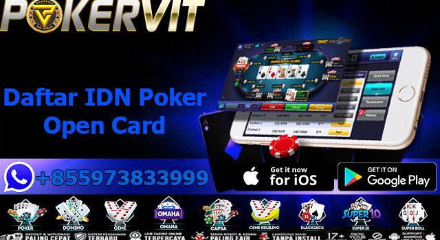 Daftar IDN Poker Open Card