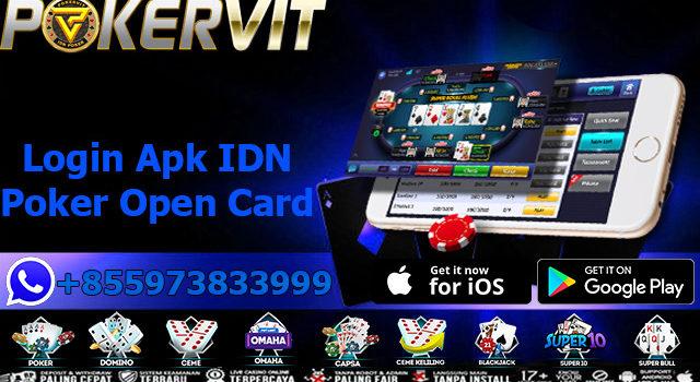 Login Apk IDN Poker Open Card
