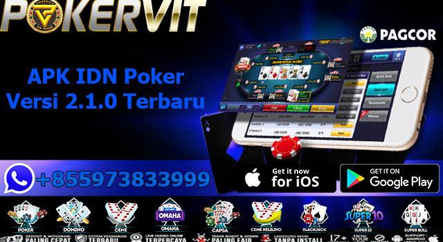 APK IDN Poker Versi 2.1.0 Terbaru