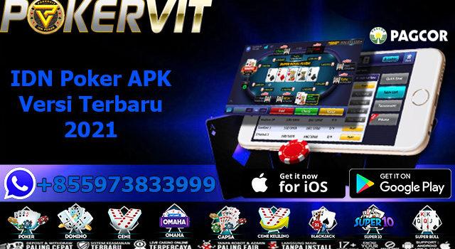 IDN Poker APK Versi Terbaru 2021