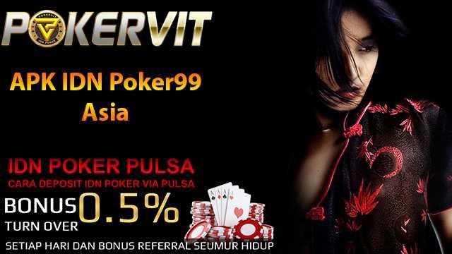 APK IDN Poker99 Asia
